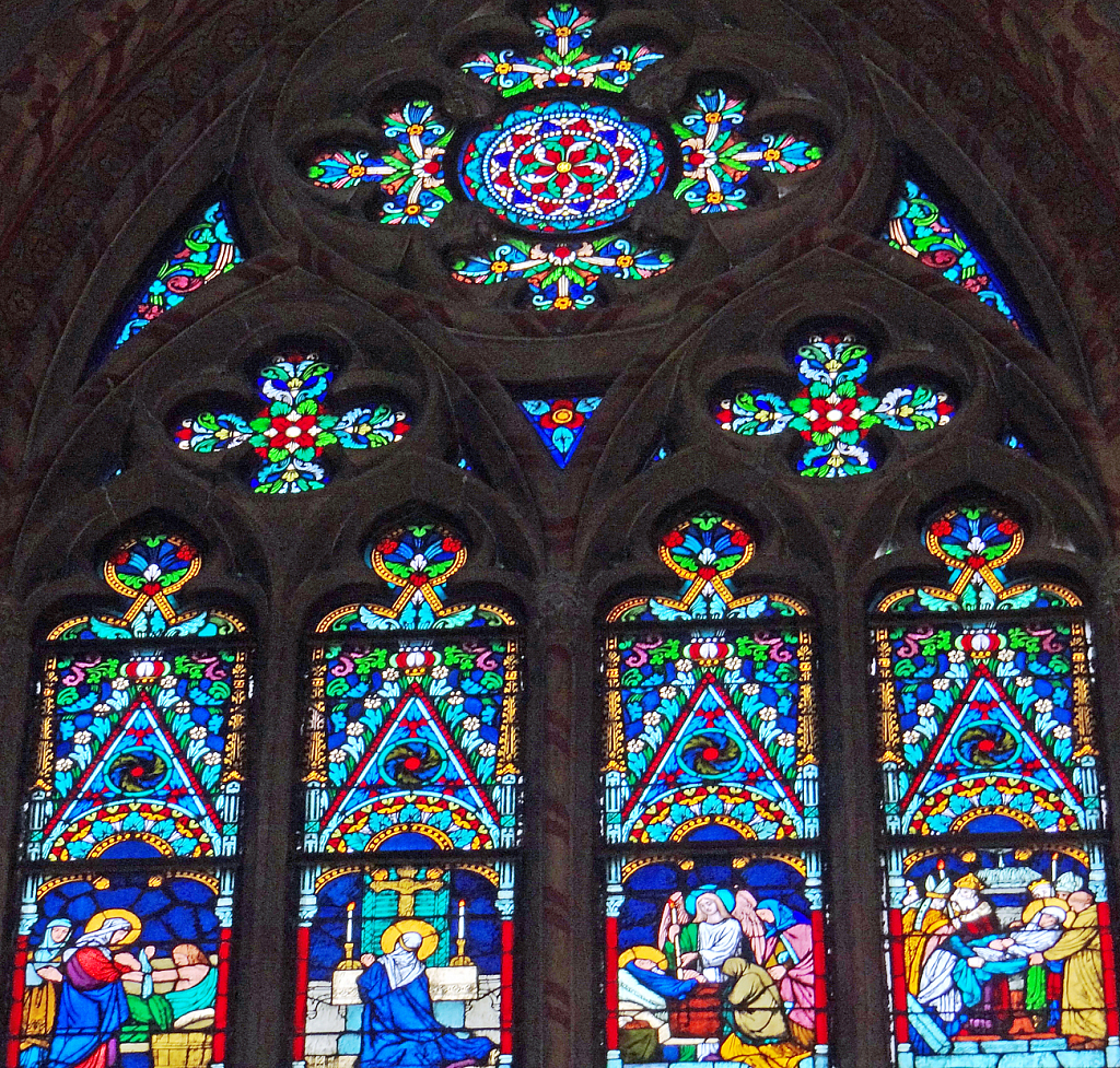 Cathedral's windows.
