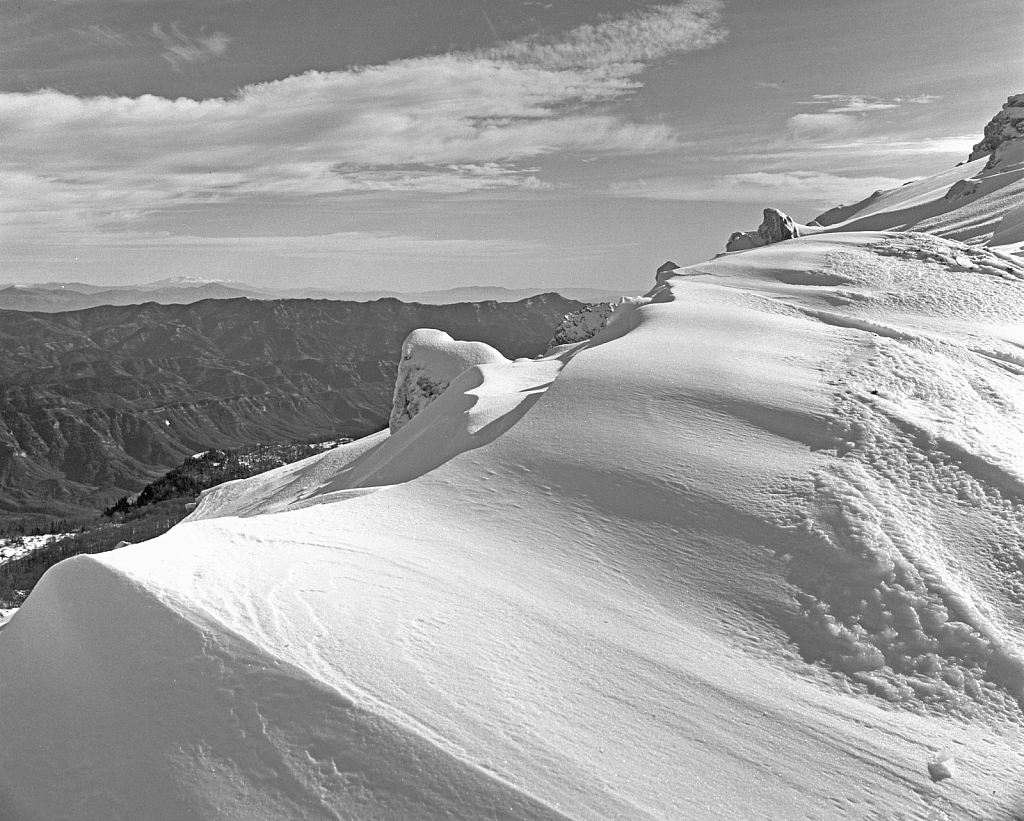 Frozen peak.