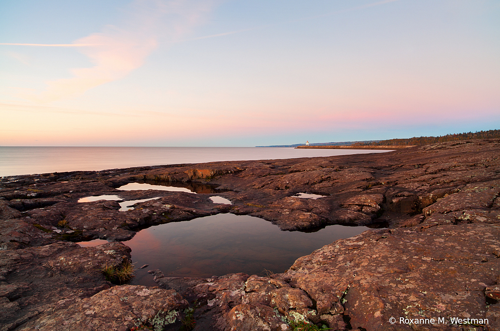 Sunrise on Lake Superior Agate bay