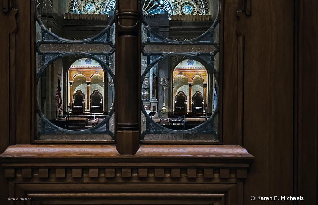look through lobby windows