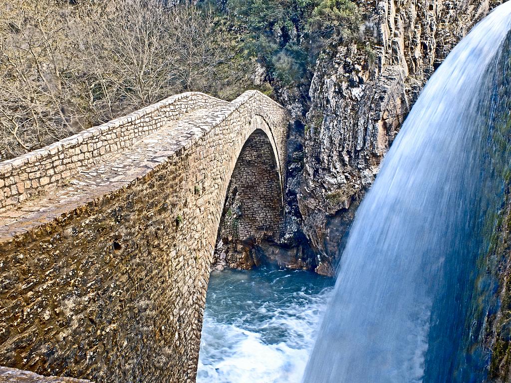 Bridge over troubled water.