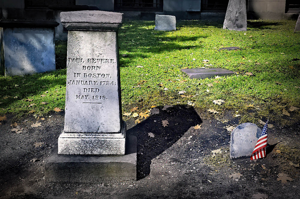 Here Lies Paul Revere