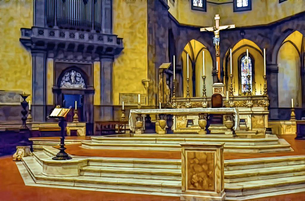 Altar at Santa Maria Del Fiore