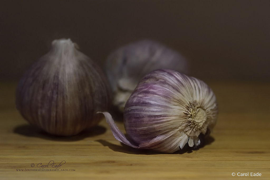 Purple Garlic Trio