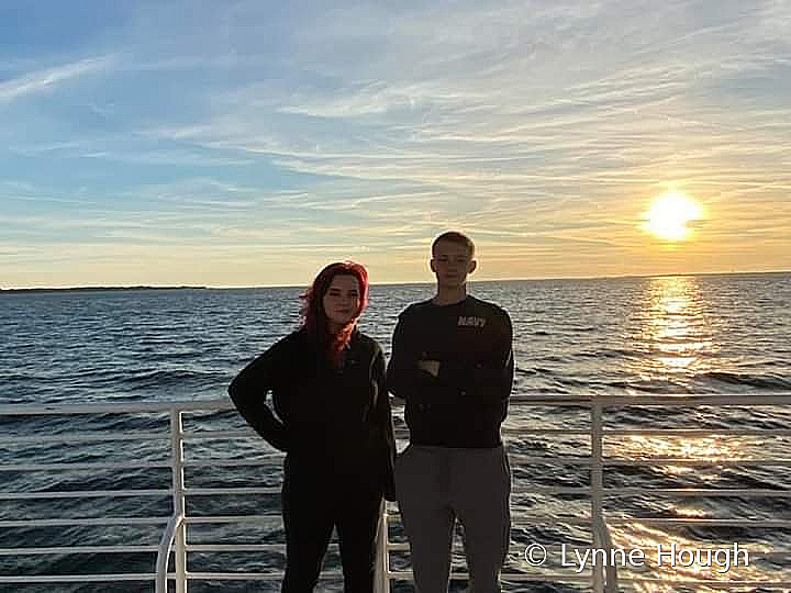 Family on Escambia Bay, Florida