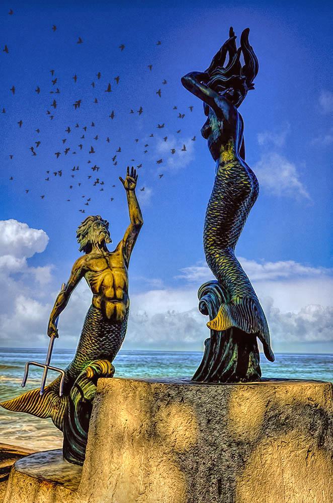 Triton and the Mermaid