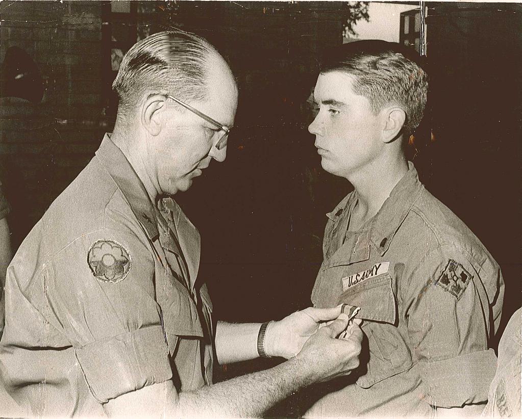 General Kenndall Awarding my 1st ARCOM - Copy