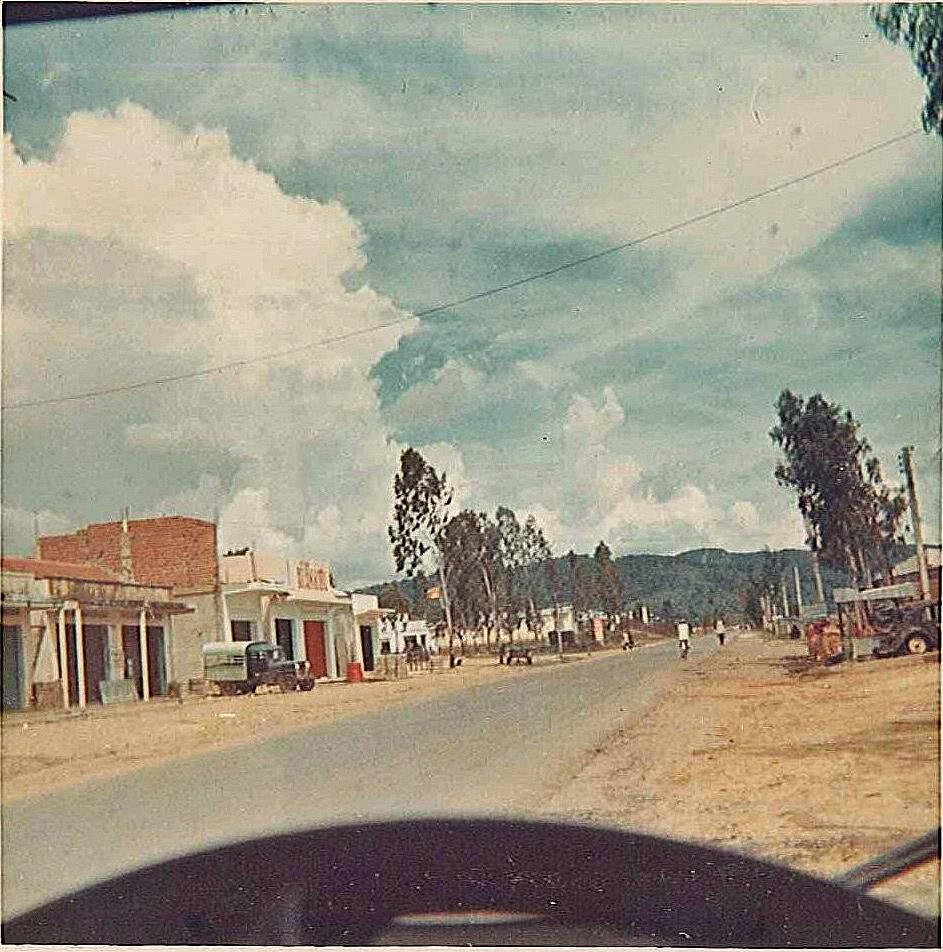 Down Town An Khe Vietnam 1970