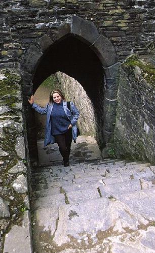 On the Castle Steps - ID: 894 © Jim Miotke