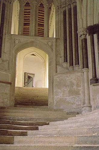 Wells Cathedral Stairway - ID: 917 © Jim Miotke