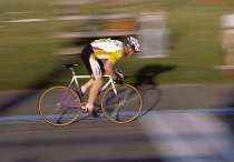 Cyclist - Panning