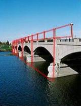 White River Park Pedestrian Bridge