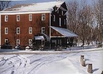 Adams Mill in Winter