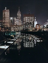 Indianapolis Canal Walk by Night