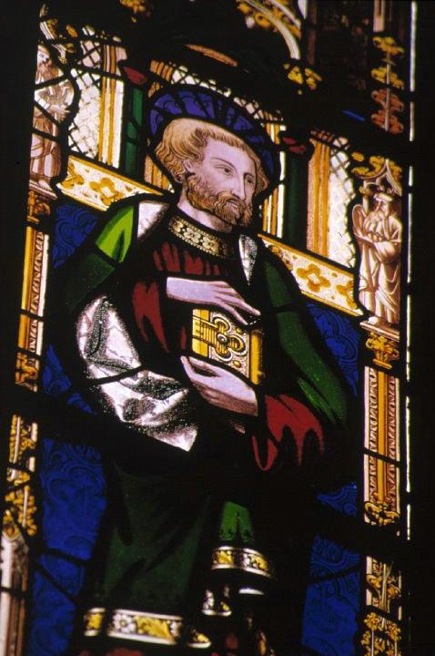 Saint Wells Stained Glass - ID: 3003 © Jim Miotke