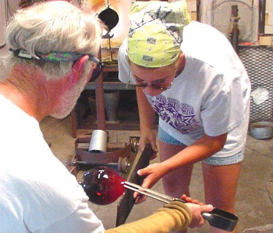 Glassblowers at Work