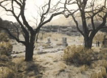 """Old Carson City Graveyard"""
