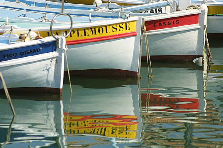 Cassis Boats - ID: 3731 © Jim Miotke