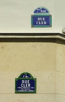 Rue Cler in Paris