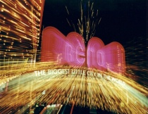 """Starburst of Reno City Lights"""