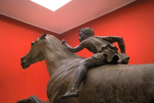 Greek Jockey
