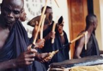 funeral drummers in Ghana Africa
