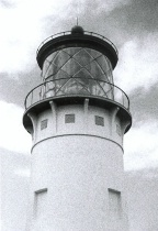 Lighthouse, taken with Minox spy camera