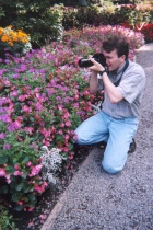 Shooting Flowers at Butchart Gardens, B.C.