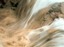 Flood in the desert
