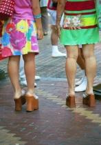 Street fashion of Osaka