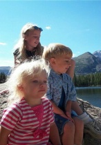 My 3 Kids and the Rocky Mts