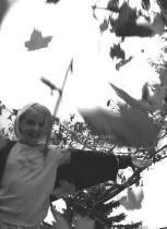 Leaf Throwing!