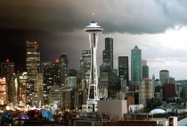 Seattle:  Night to Day
