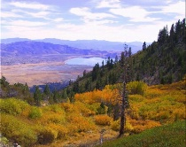 """High Nevada Desert in the Fall"""