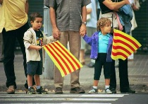 Independence day in Catalonia