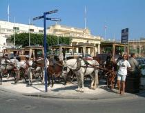 Malta transport depot