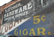 Old Building Ad