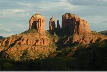 Red Rock Formation - Castle