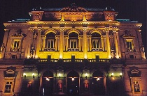 Lyon Theatre at Night