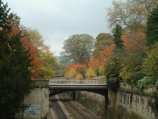 Railway cutting