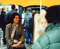 Paris, Nilgün and me.