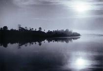 Goat Island at Dawn