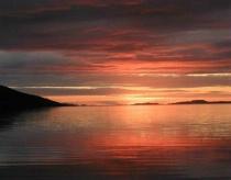 Sunset In Ullapool