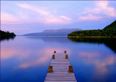 Photography Contest Grand Prize Winner - December 2001: Lake Tarawera, New Zealand