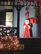 Santa on the Porch