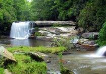 Mill Shoals Falls (upper)