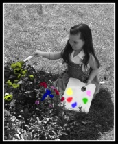 Painting The Flowers