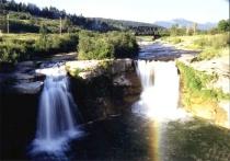 Lundbrek Falls