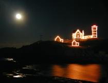 Yule Tide at Nubble Lighthouse