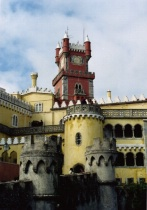 The Palace da Pena, Sintra, Portugal
